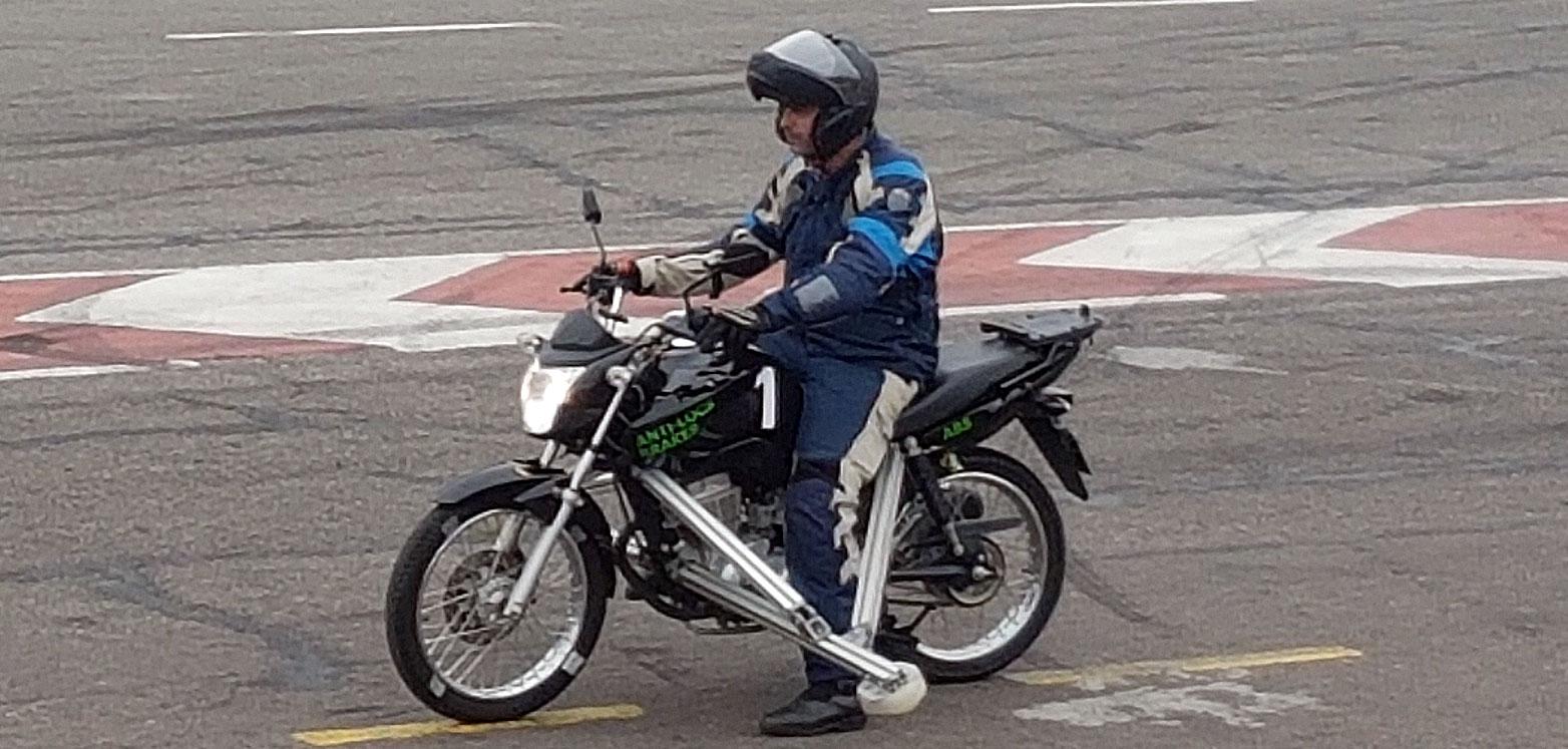 Stop The Crash: Prueba del sistema ABS para motos
