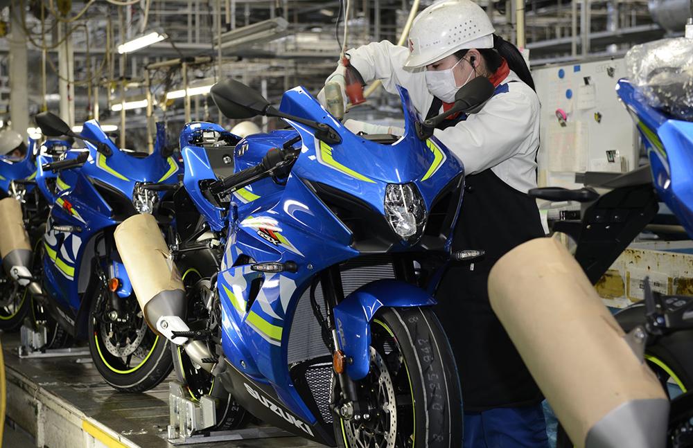 Nueva fábrica de Suzuki en Japón