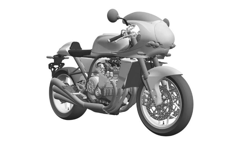Sólo para nostálgicos: prototipo de Honda CBX 6 cilindros