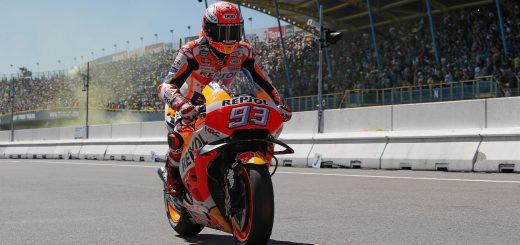 MotoGP El Gran Premio de Holanda fue para Marc Márquez