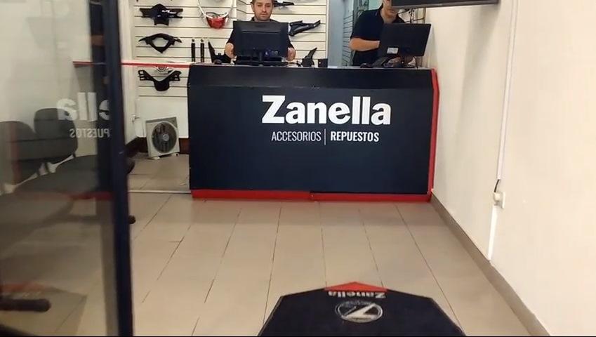 Zanella abrió dos locales de repuestos y accesorios originales