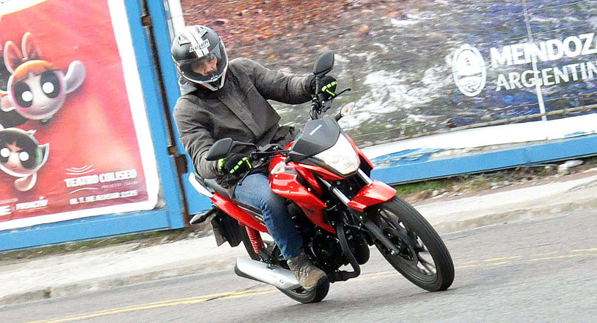 Test Ride Honda CB125F Twister