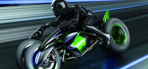 Kawasaki de tres ruedas