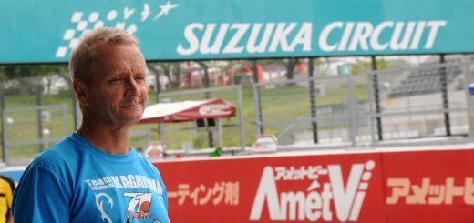 Kevin Schwantz en las 8 Horas de Suzuka