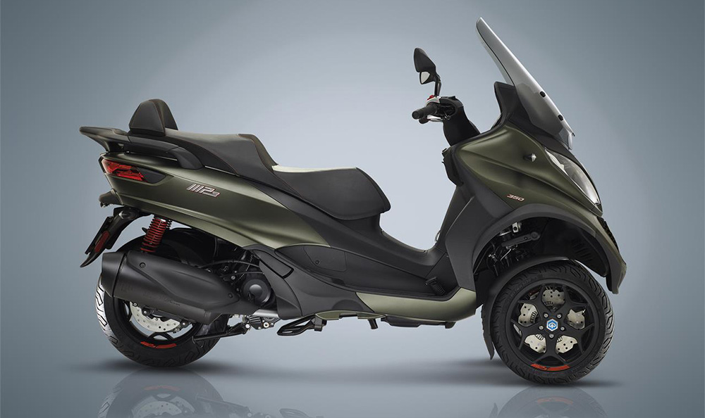 scooter Piaggio MP3 350 y 500 cc
