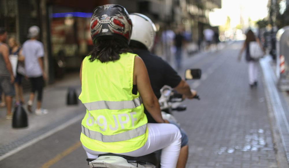 Infracciones más comunes de motociclistas