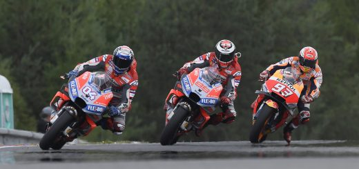 Ducati se quedó con el Gran Premio de la República Checa
