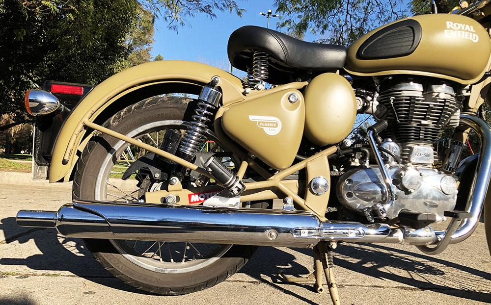 Royal Enfield Classic 500 Desert Storm