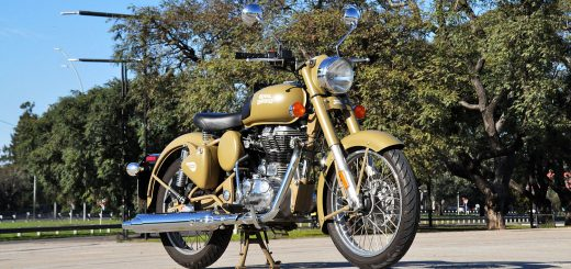 Test Ride Royal Enfield Classic 500 Desert Storm