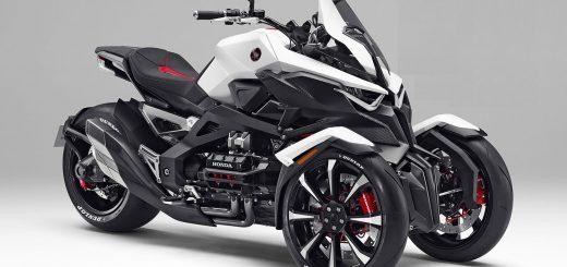 Honda Neowing, la nueva moto de tres ruedas de Honda