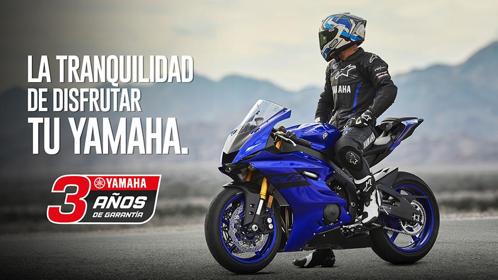 Novedades Yamaha: ahora con 3 AÑOS de garantía