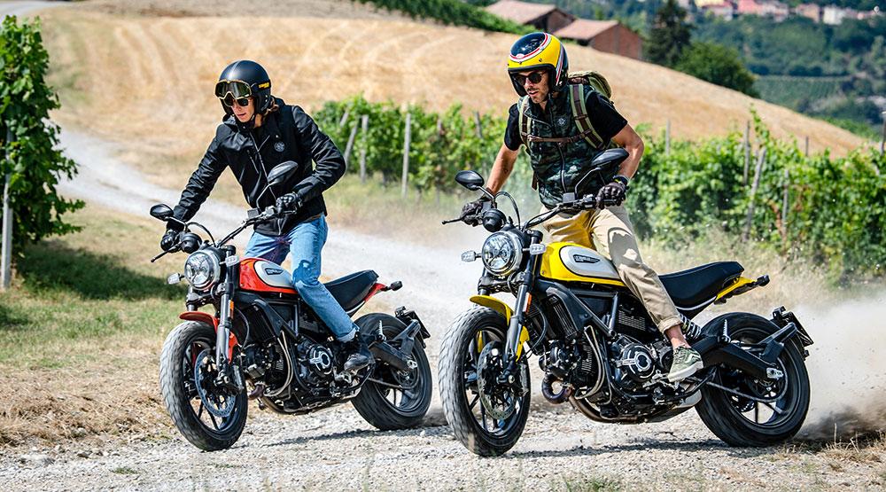 La nueva Ducati Scrambler Icon se lanzará en noviembre