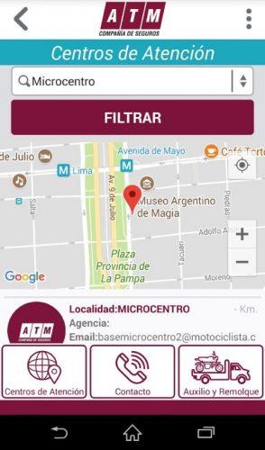 Nueva App mobile de ATM Seguros