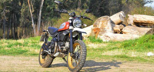 test ride Ducati Scrambler Desert Sled 800 cc