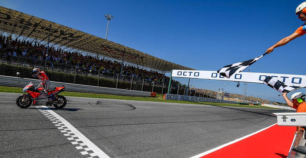 MotoGP: gran victoria para Andrea Dovizioso en San Marino