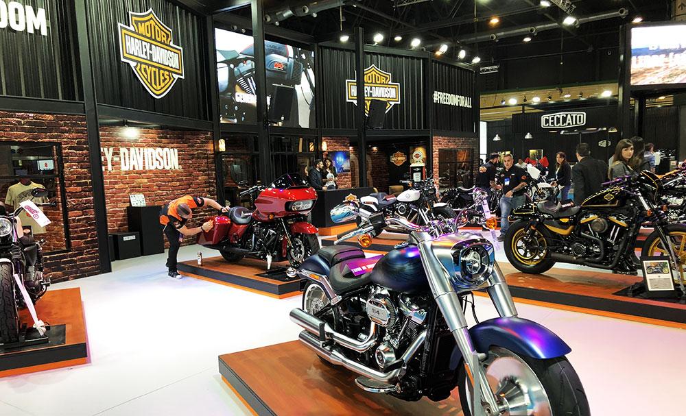 Harley-Davidson salon moto 2018