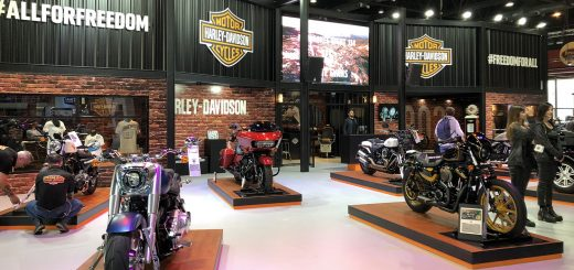 harley davidson salon moto 2018