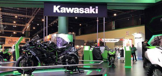 kawasaki salon moto 2018