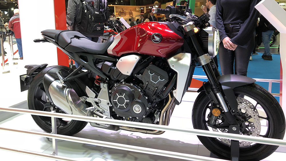 Honda en el Salón Moto anunció la llegada de la CB1000R y la CB300R
