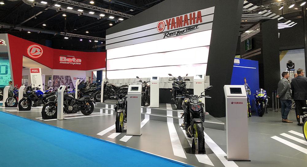 Yamaha Motor Argentina ofreció bonificación de patentamientos en el Salón Moto 2018