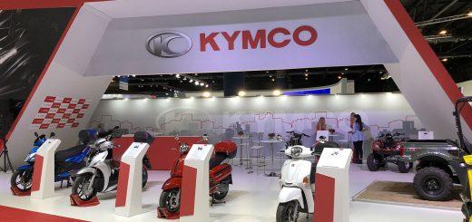 Kymco en el Salón Moto 2018