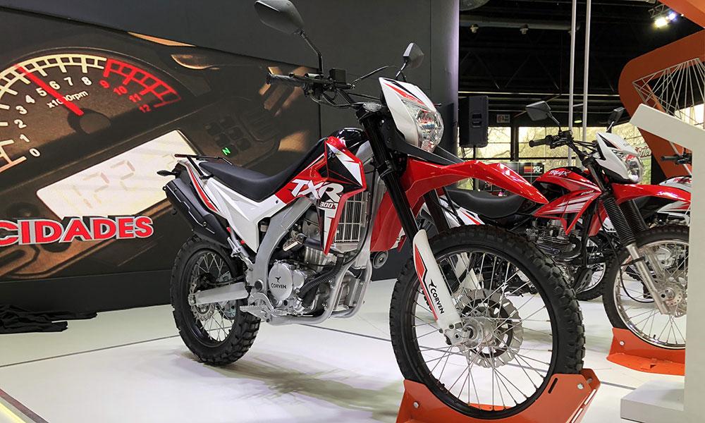 Corven presente en el Salón Moto con dos lanzamientos y un prototipo de la Touring 400