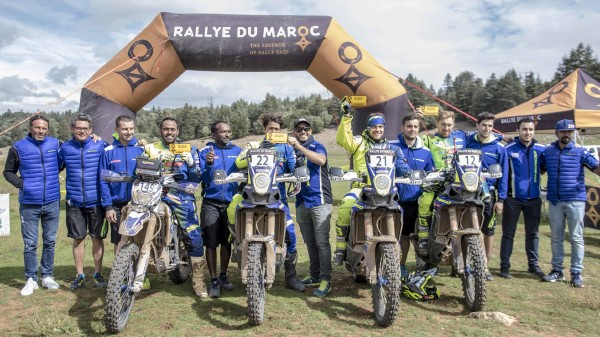 Team Sherco TVS Rally Factory marruecos