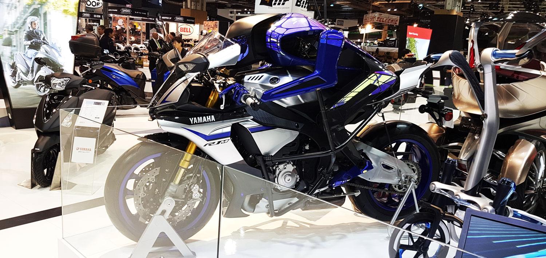 Yamaha MOTOBOT 2 Salón de Paris