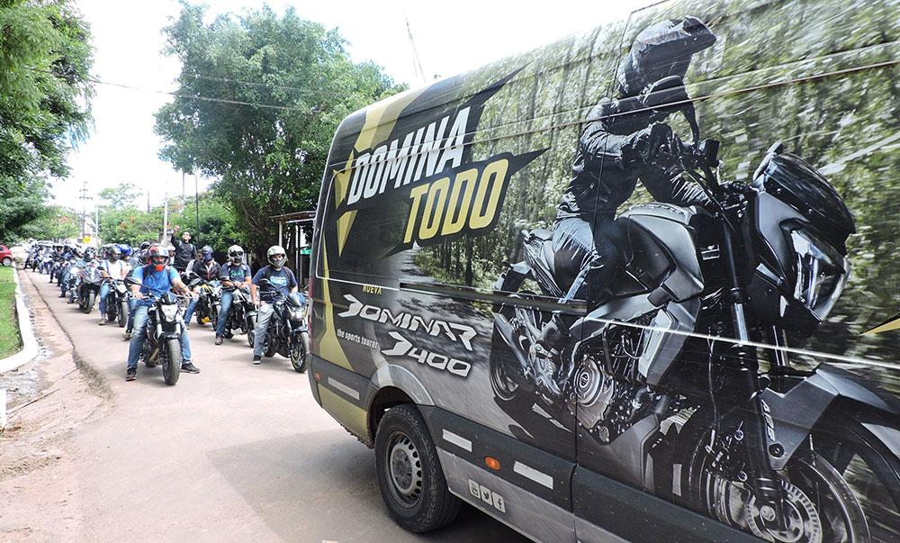 Se llevó a cabo el 4º Dominar Trip junto a Corven Motos