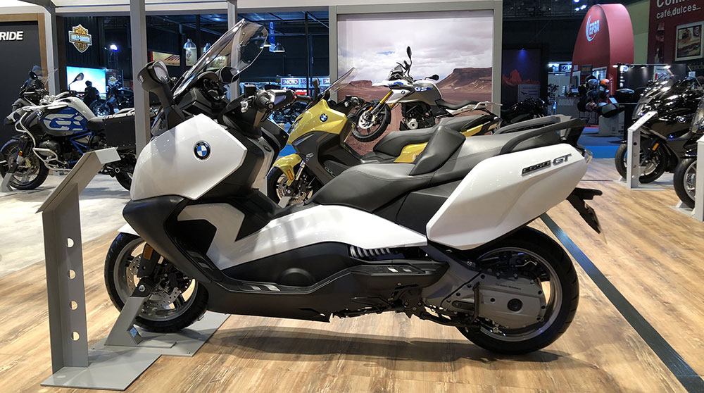 BMW scooters C650 Sport