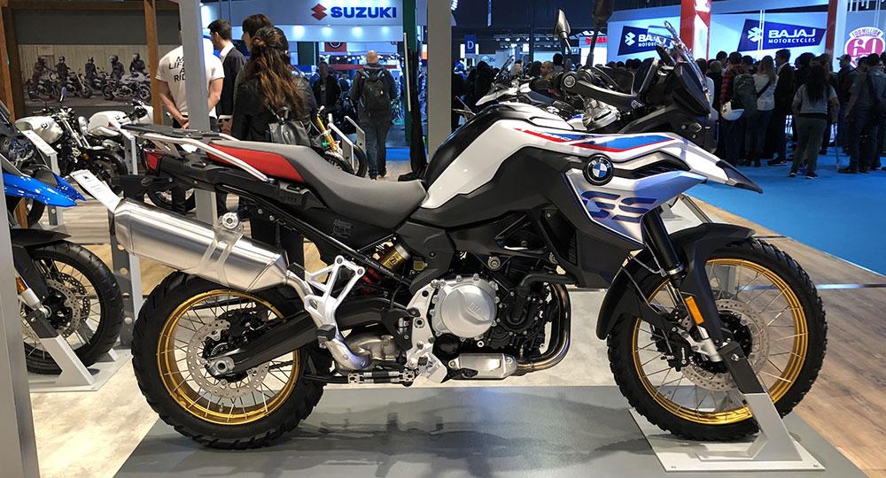 BMW Motorrad en el Salón Moto presentó las nuevas BMW F 750 GS y BMW F 850 GS