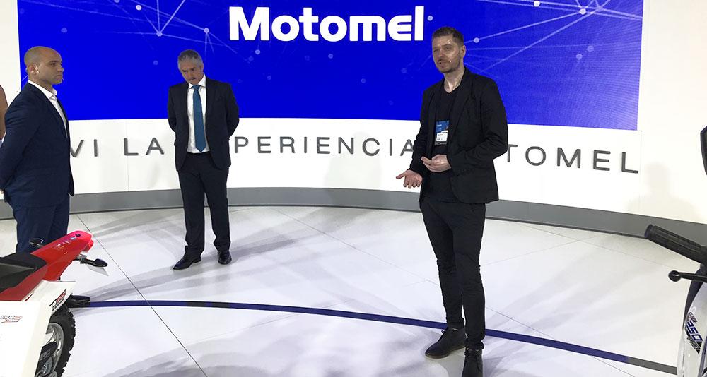 Motomel en el Salón Moto 2018 con varias novedades y scooters eléctricos