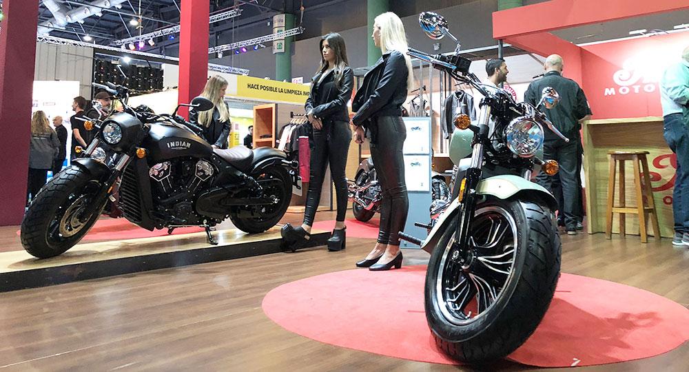 Indian Motorcycles en el Salón Moto con nuevo sistema de financiación
