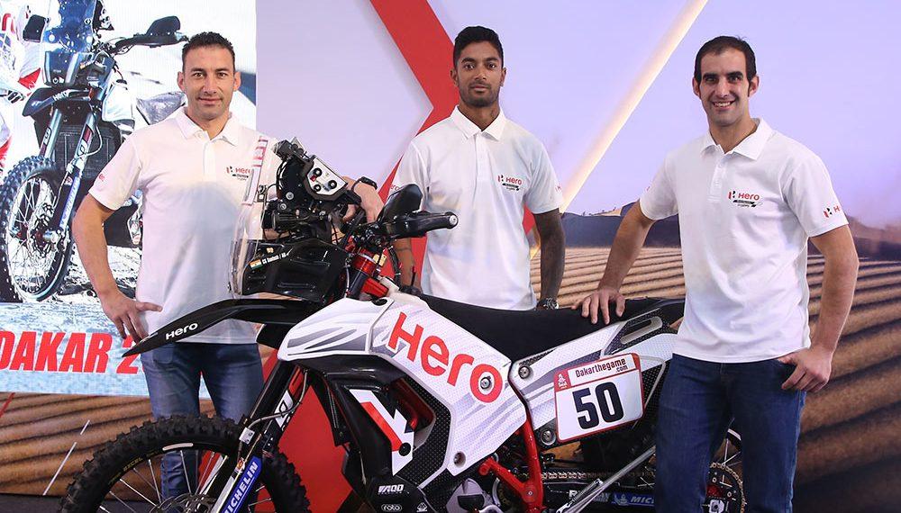 Hero MotoSports anunció su equipo para el Dakar 2019