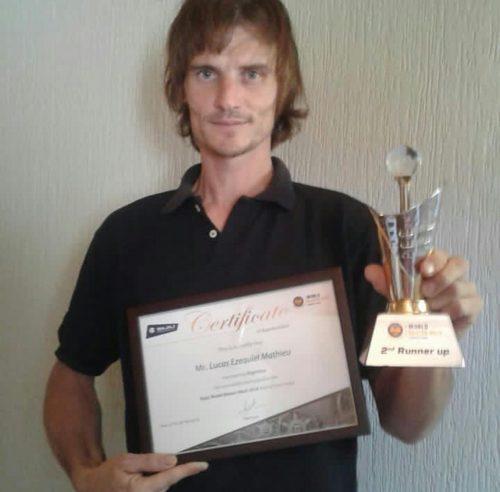 Un argentino en el podio del World Master Mech Bajaj