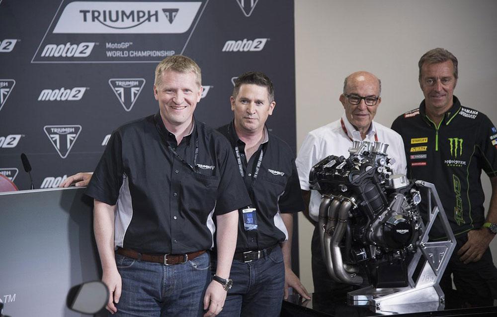 Moto2: récord de la categoría con los nuevos motores Triumph