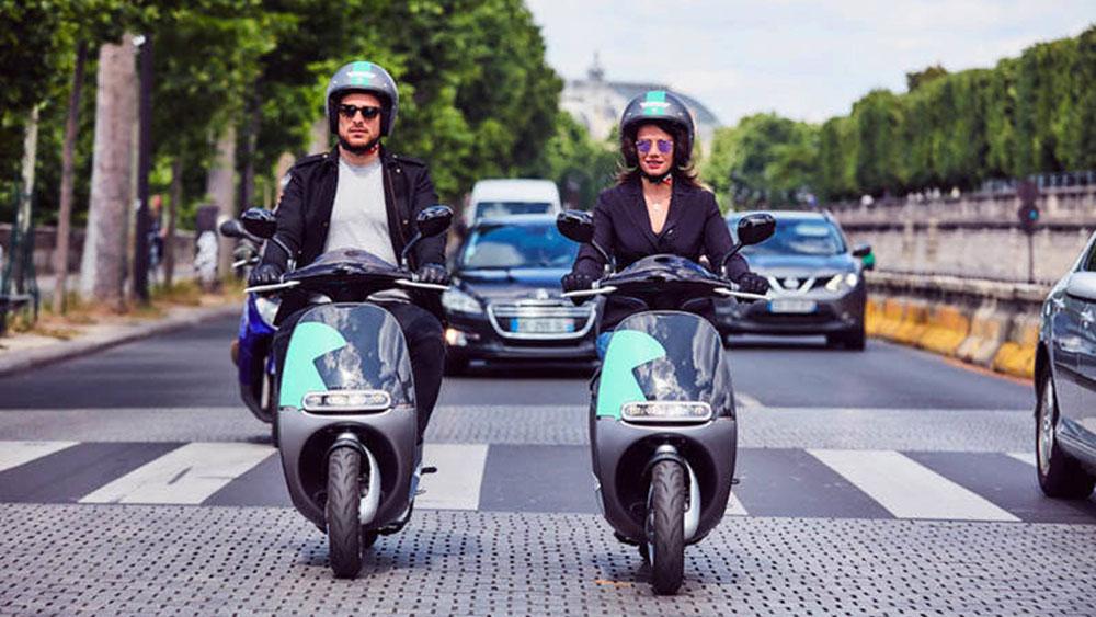 España líder mundial en motos de alquiler de uso urbano