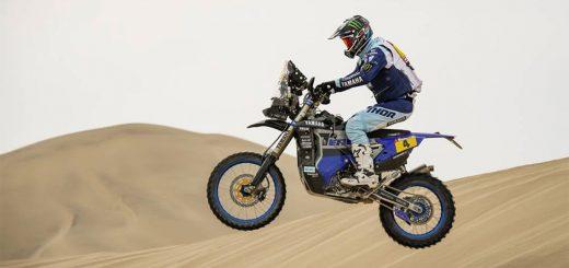 Dakar día 3: Pisco-San Juan de Marcona, para KTM