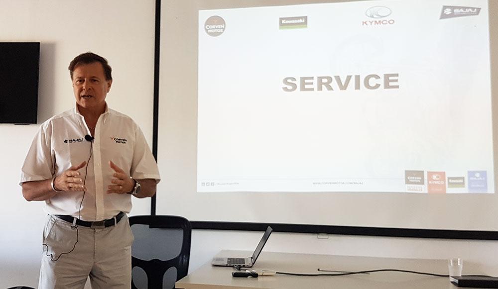 Corven Motos consolida su servicio Post Venta