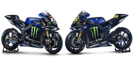 MotoGP: con Rossi y Viñales, Yamaha mostró las motos del flamante equipo Monster Energy
