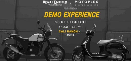 Demo Experience: Royal Enfield, Vespa, Piaggio y Moto Guzzi