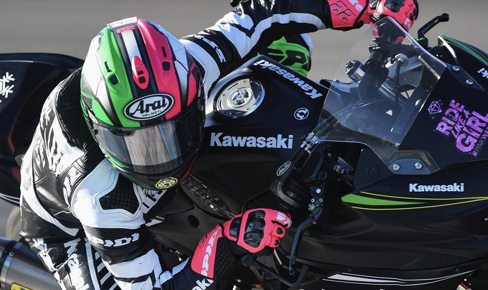 Ana Carrasco quiere ser la primera mujer en ganar un título de MotoGP