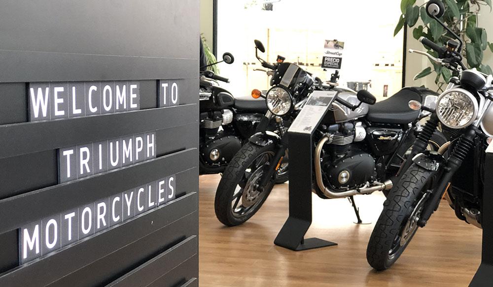 Triumph traslada la producción de Reino Unido a Tailandia