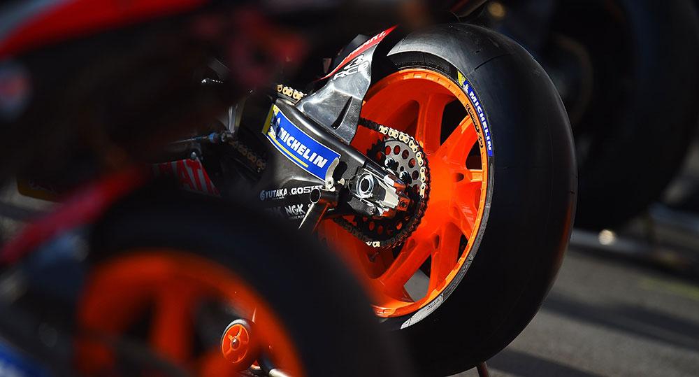 Michelin ya se prepara para el MotoGP en Termas de Rio Hondo
