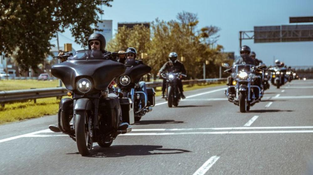 Segunda travesía solidaria de Harley-Davidson a Ramallo