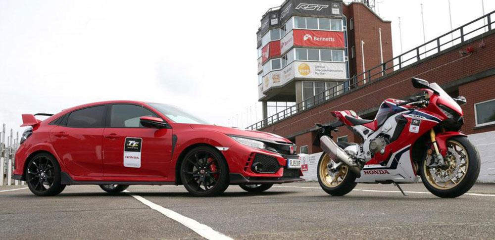 Honda proveerá motos y autos de apoyo para el TT de la Isla de Man