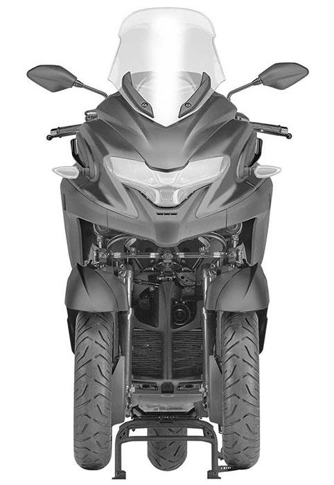 Filtrado: Yamaha 3CT, nuevo scooter de 3 ruedas