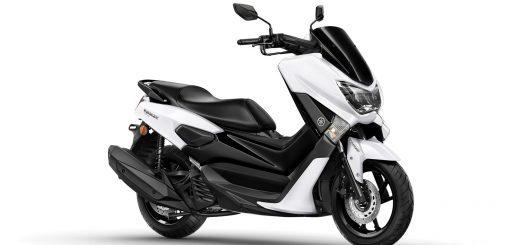 Se registró en Brasil un nuevo diseño para el scooter Yamaha NMax