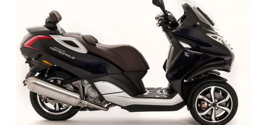 Lanzamiento scooter Peugeot Hi-Tech Metrópolis de tres Ruedas