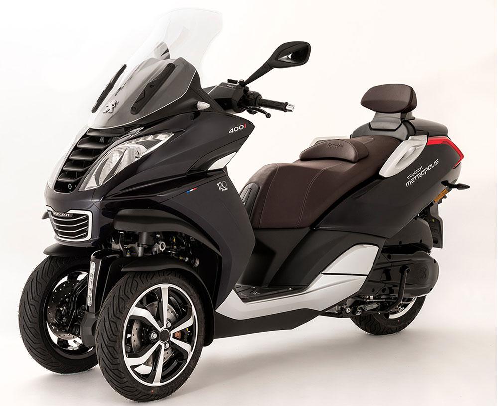 La división motos de Peugeot pasó a manos de Mahindra